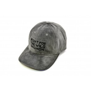 Wild Salmon Trucker Fløjls hat Cool Grey