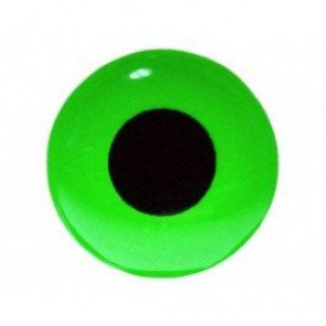 Futurefly 3D Epoxy Eyes 9mm Fl. Green