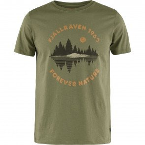 Fjällräven Forest Mirror T-Shirt Herre - Green
