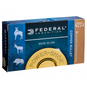 Federal Power Shok Copper kal. .300 Win. Mag. - 11,7 g - 20 stk. - Jagt