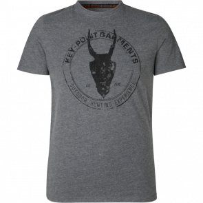 Seeland Key-Point T-shirt Grey Melange