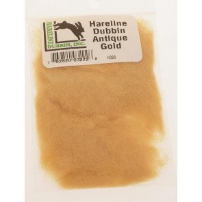 Hareline dub antique gold