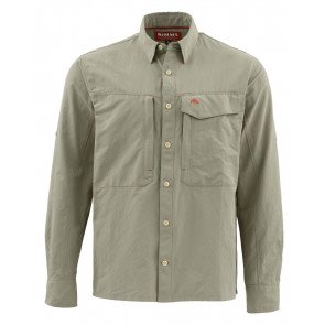 Simms Guide LS Shirt  -  Dark Khaki