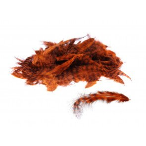 Grizzly Marabou Burnt Orange