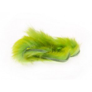 Two Toned Rabbit Strips - Chartreuse Tipped / Green Chartreuse
