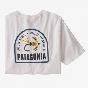 Patagonia - M´s Soft Hackle Organic T-Shirt - WHI