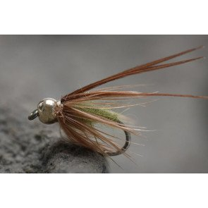 Bead Head Caddis Pupa Olive size: 14