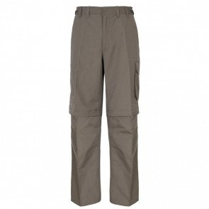 Trespass Mallik Men's Hurtigtørrende Zip-Off Bukser Bark