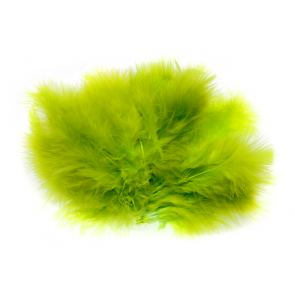 Marabou - Wooly Bugger #127 - Fl. Chartreuse