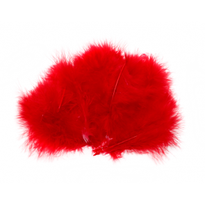 Marabou - Wooly Bugger #310 - Red