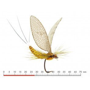 J:Son Mayfly Dun 1 Cinnamon Brown