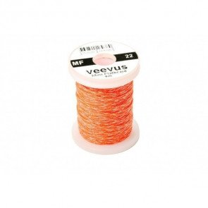 Veevus Mini Flatbraid Fluo Orange