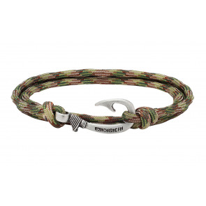 Chasing Fin  - Multicam Fish Hook armbånd