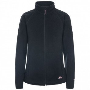 Trespass Nonstop Women's Fleece Jakke Sort