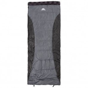 Trespass Pitched Sleeping Bag Graphite - Sovepose