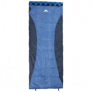 Trespass Pitched Sleeping Bag Navy - Sovepose