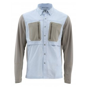 Simms GT Tricomp Shirt  - Light Blue