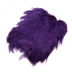 Giant Softhackle patch - purple