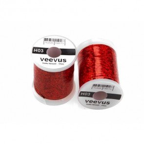 Veevus Holo Tinsel Red