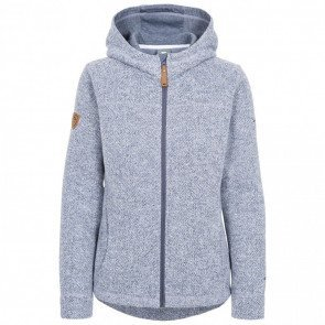 Trespass Reserve Women's Fleece Hoodie Denim Blå