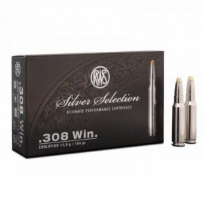 RWS Evolution Silver Selection .308 Win 11,9 g. - 20 stk.