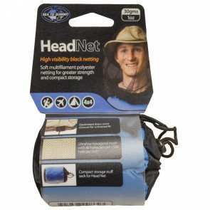 Ultra-Fine Mesh Headnet - Black