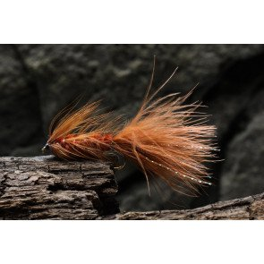SFG Wooly Bugger Goldhead Brown