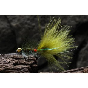 SFG Wooly Bugger Goldhead Olive