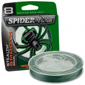 Spiderwire Stealth Smooth Grøn - 150 meter