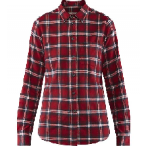 Fjällräven Övik Flannel Shirt Deep Red