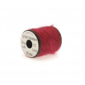 Mohair yarn  wine