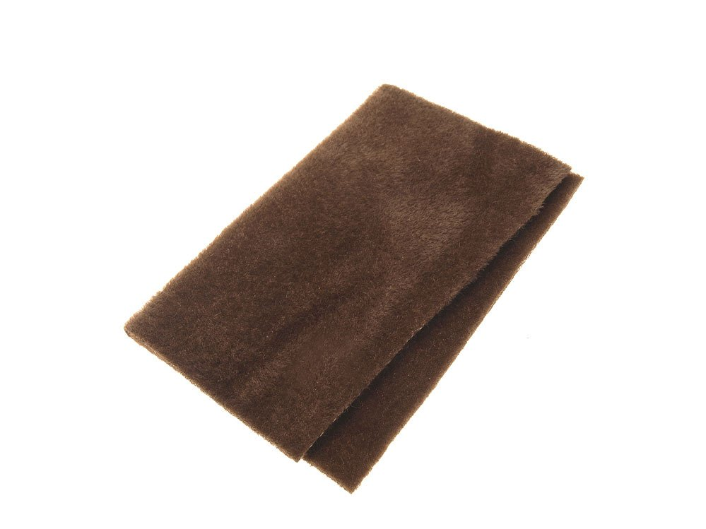 Image of   Furry foam dark brown