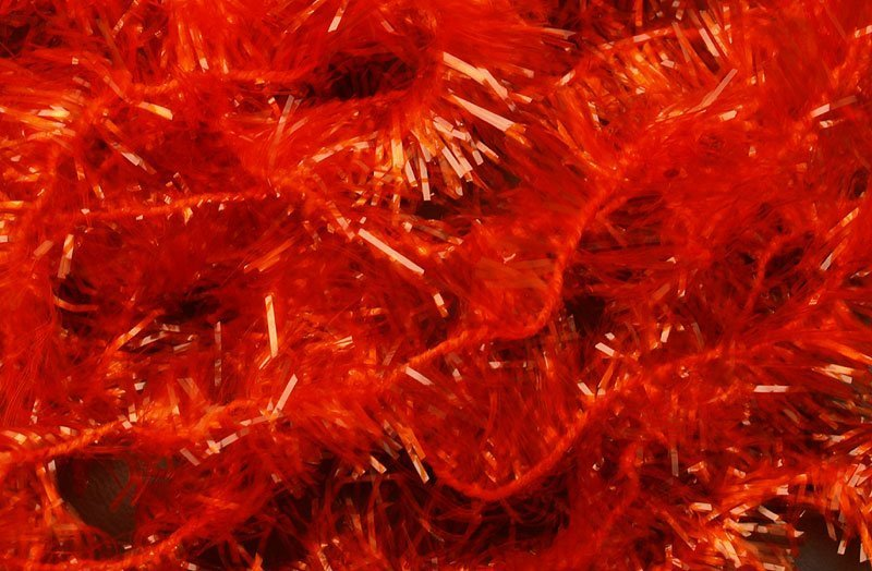Image of   Ice chenille fiery orange