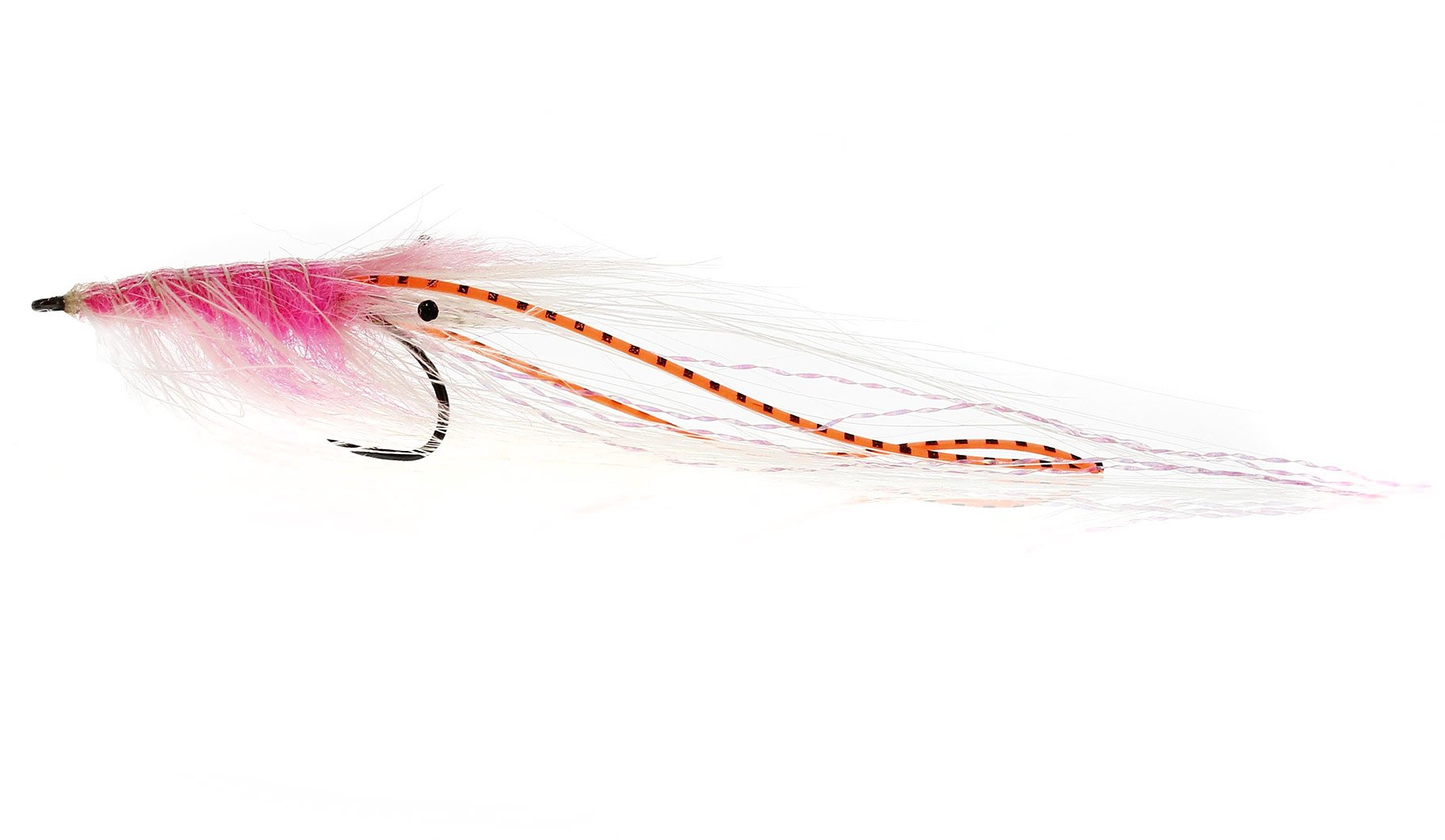Image of   Kystflue - pattegrisen salmon /orange flexi leg