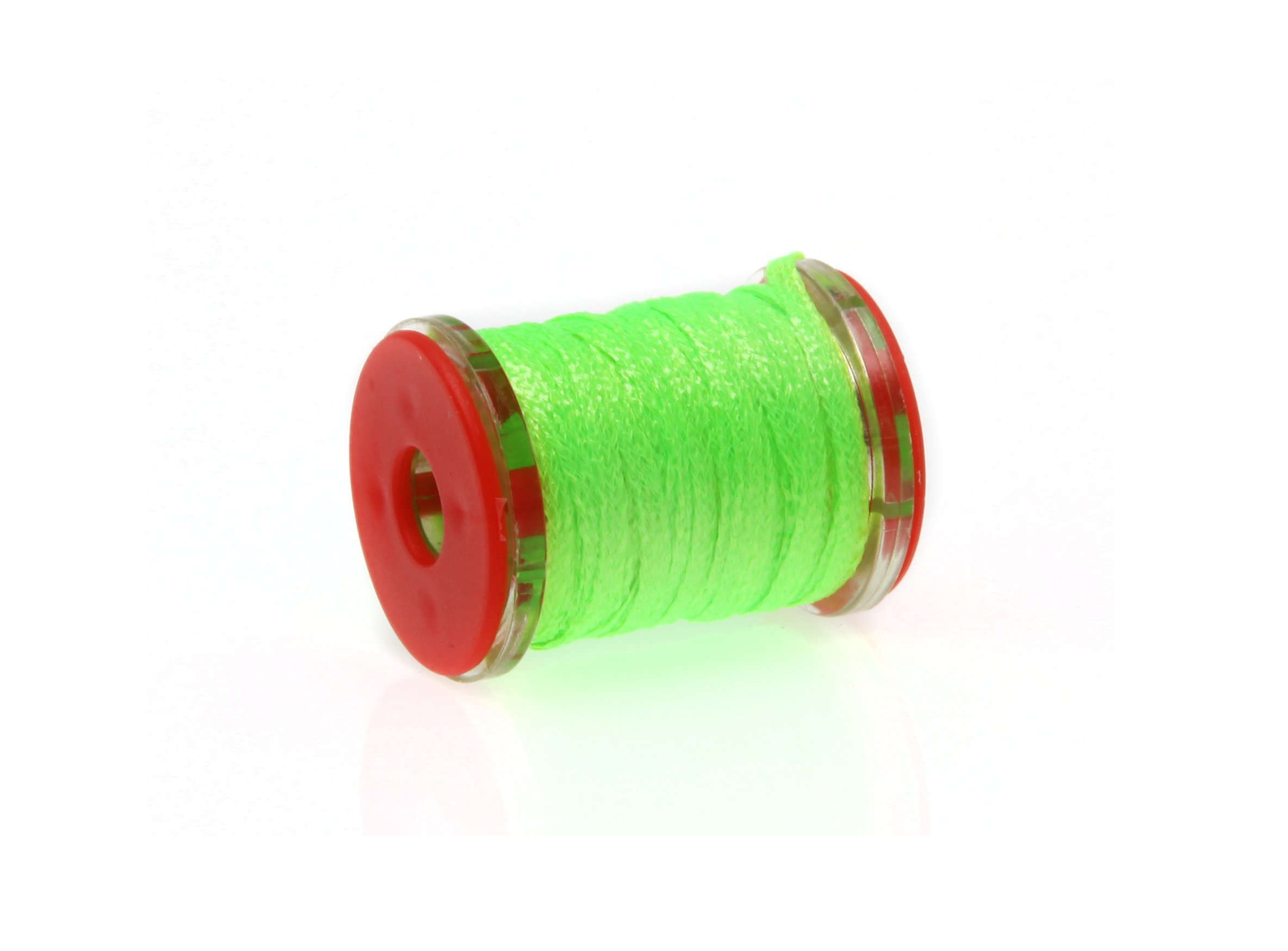 Image of   Futurefly flatbraid fluo green holo