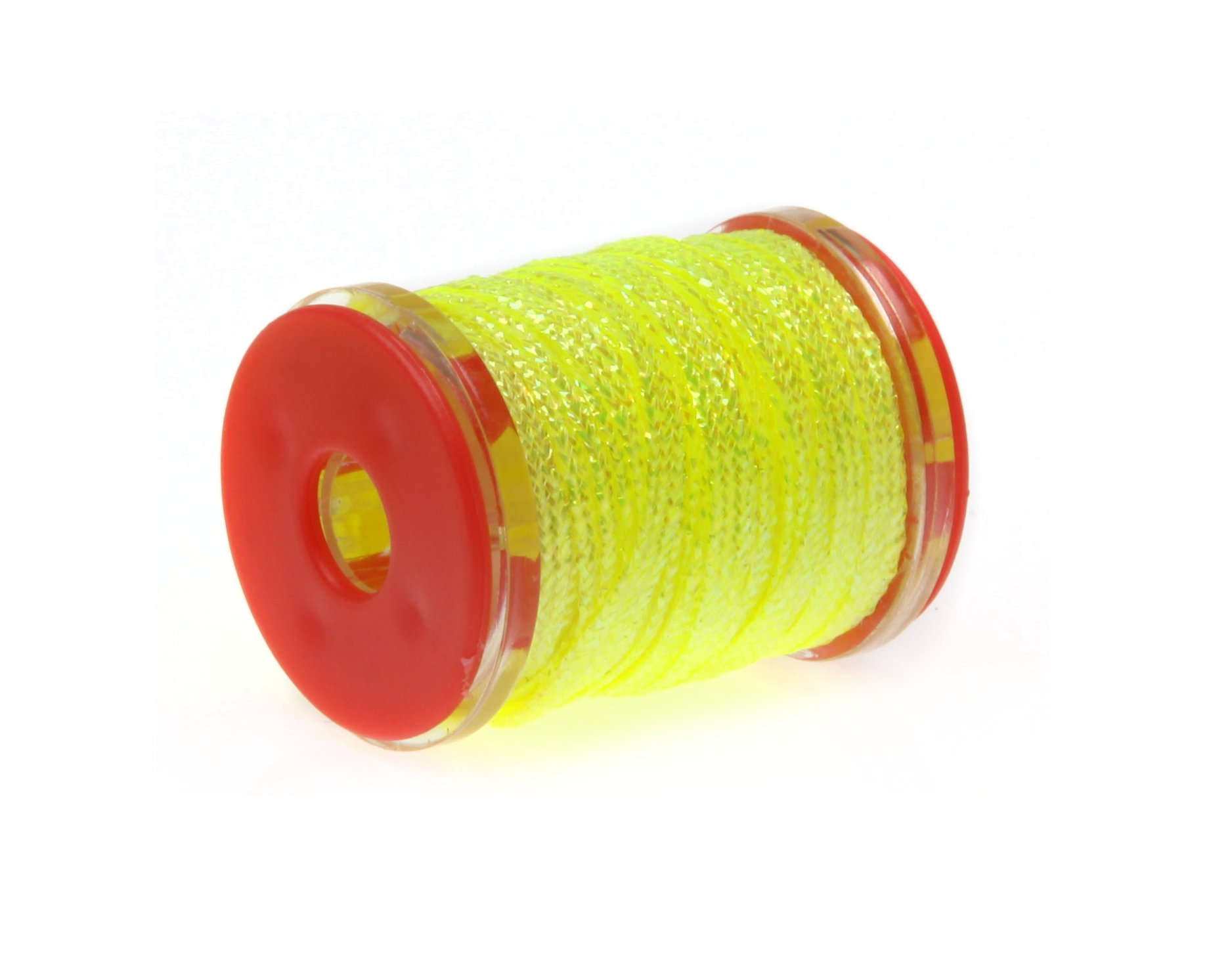 Image of   Futurefly flatbraid fluo yellow holo