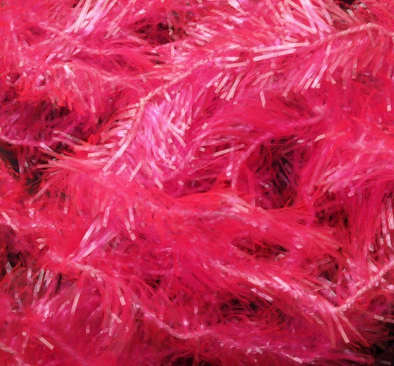 Image of   Ice chenille hot pink