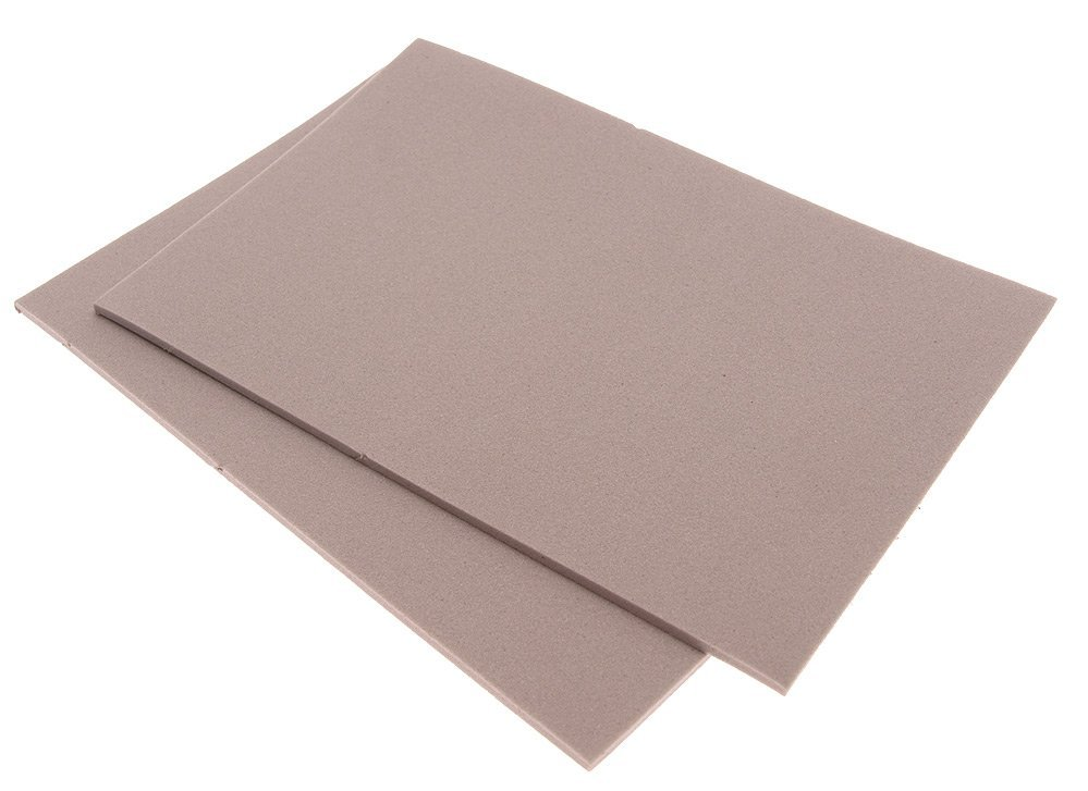 Image of   Thin fly foam 2 mm - light grey
