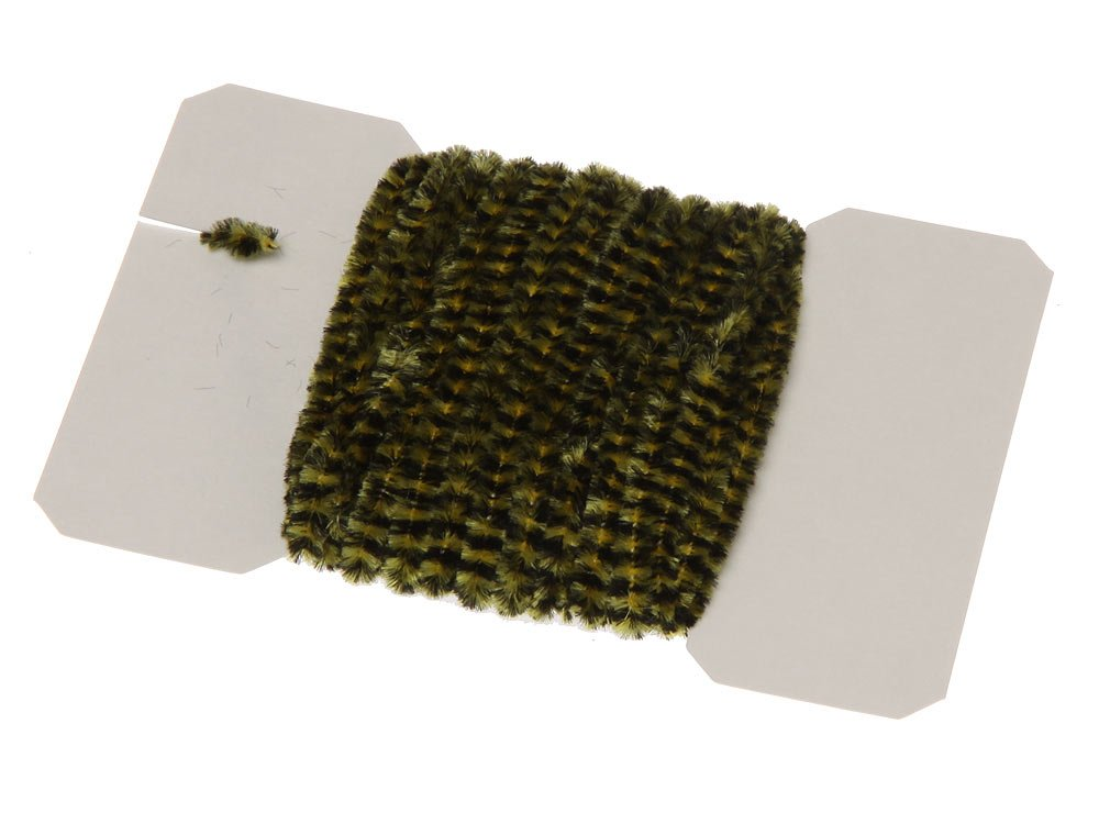 Image of   Varigated chenille medium - black/yellow