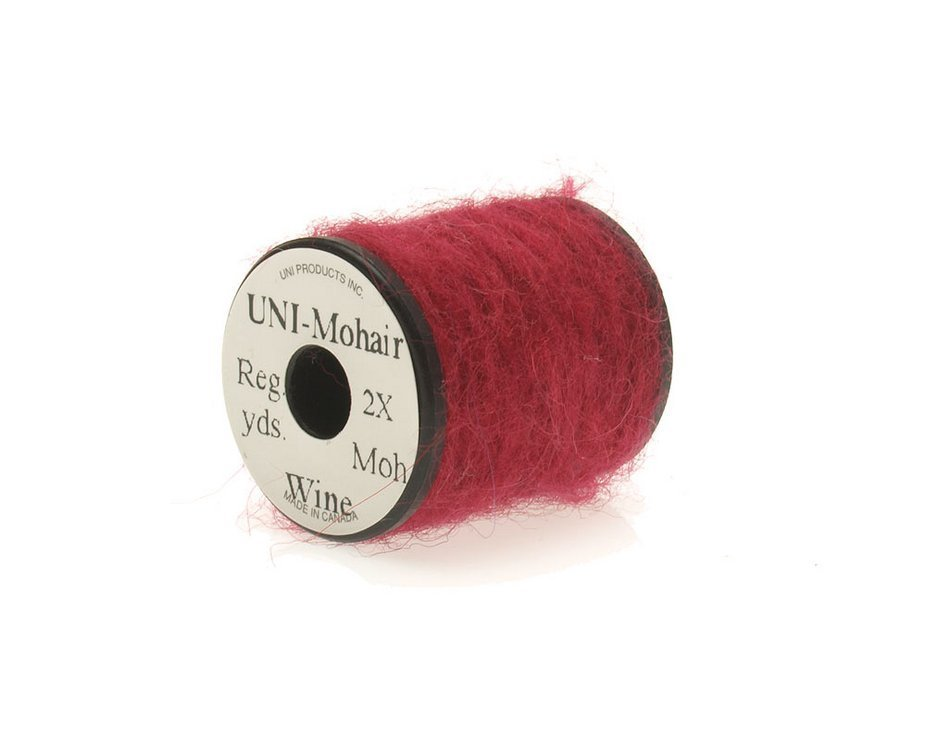 Image of   Mohair yarn wine