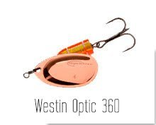 Westin Optic 360 spinnere