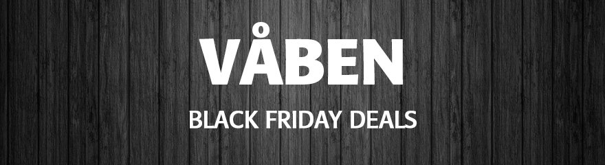 våben black friday