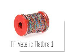 FF Metallic Flatbraid