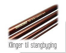 Klinger til stangbyging, Sage, Hi Level, TFO