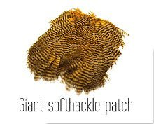 Giant Softhackle Patch